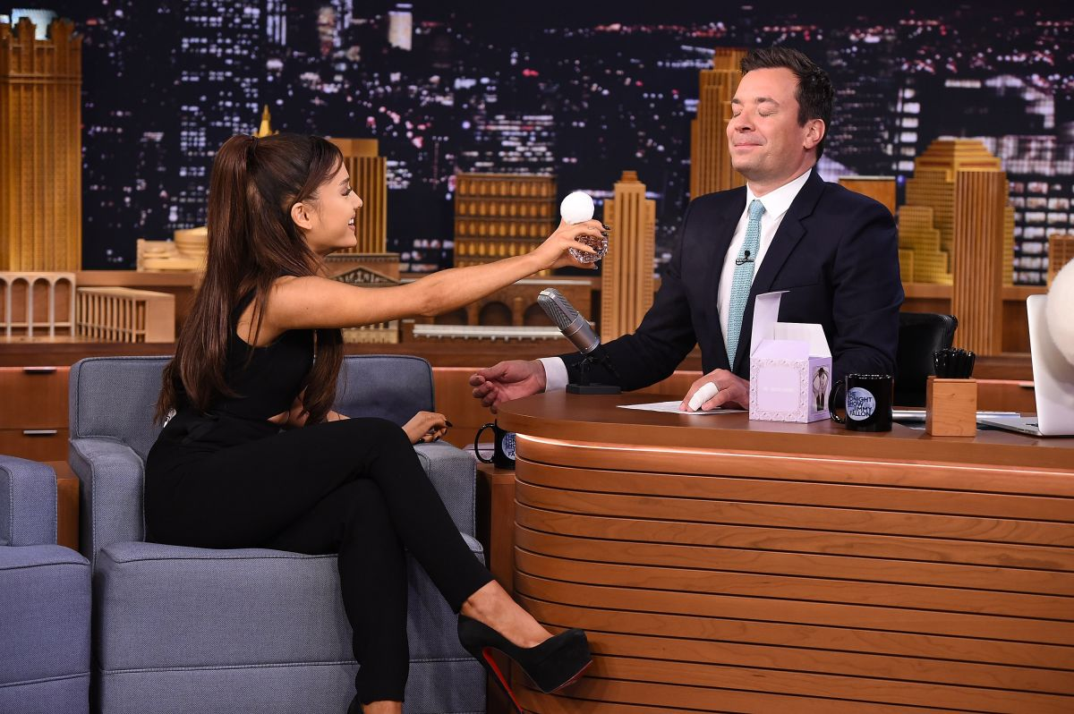 Tisch Children's Zoo New York City, ARIANA GRANDE at The Tonight Show Starring Jimmy Fallon in New ...