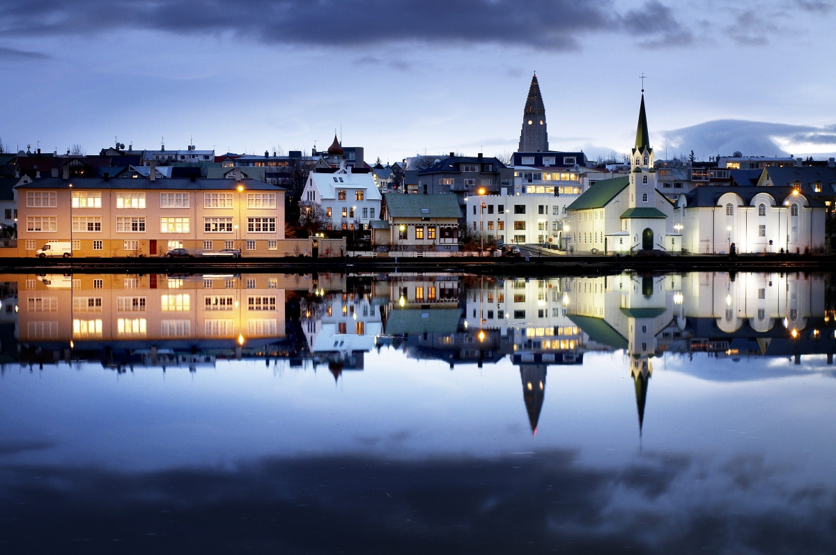 Drangey Sauðárkrókur, Seven fascinating facts about the downtown pond Tjörnin | Icelandmag