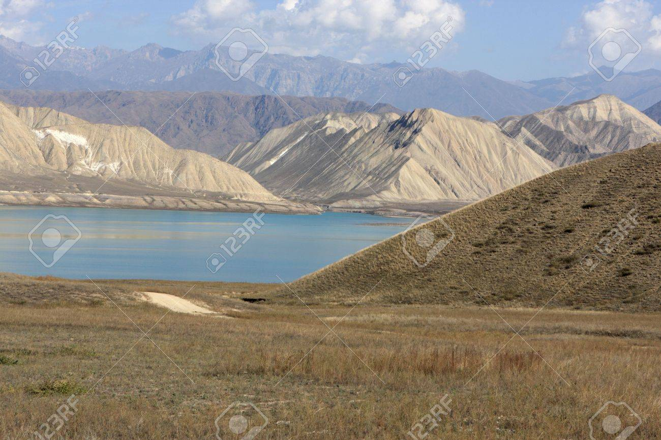 Toktogul Reservoir Toktogul, Toktogul Reservoir, Located In The Jalal-Abad Province Of ...