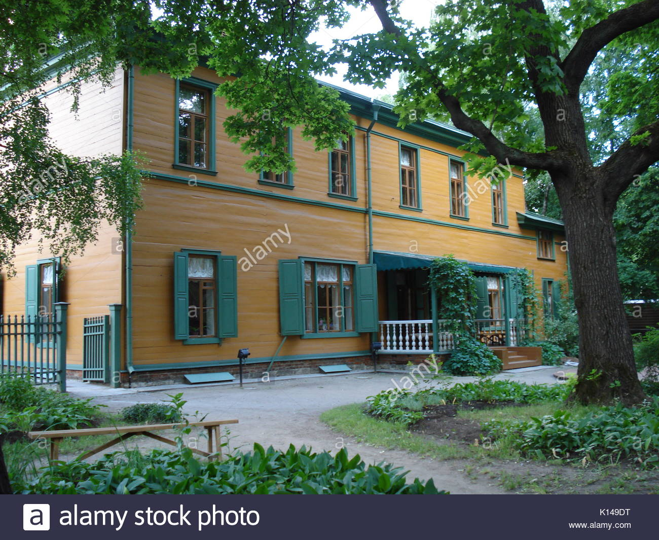 Tolstoy House Estate Museum Moscow, Museum Tolstoy Stock Photos & Museum Tolstoy Stock Images - Alamy