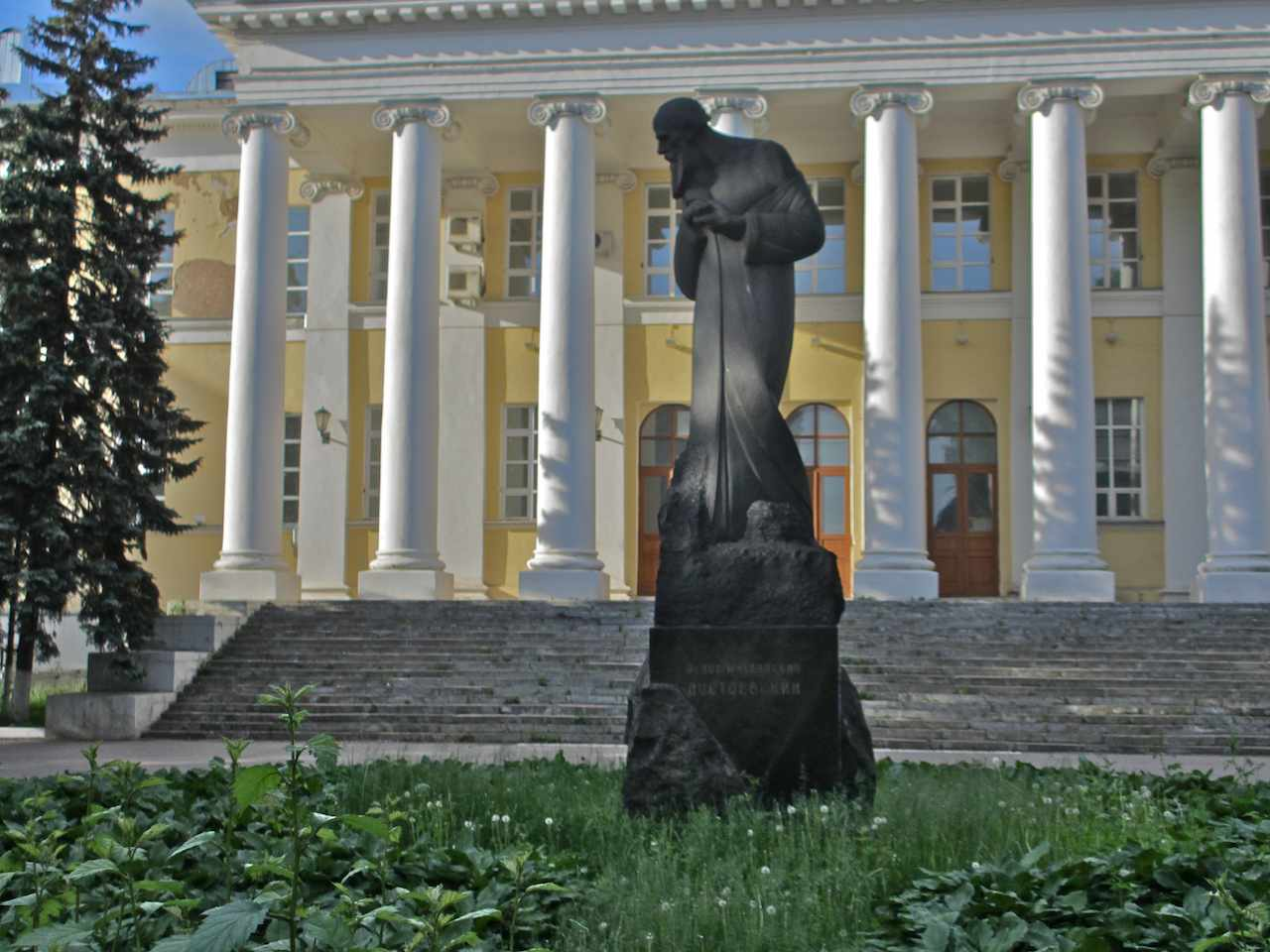 Tolstoy Memorial Museum Moscow, Fyodor Dostoevsky monument, Moscow | Russian Culture in Landmarks