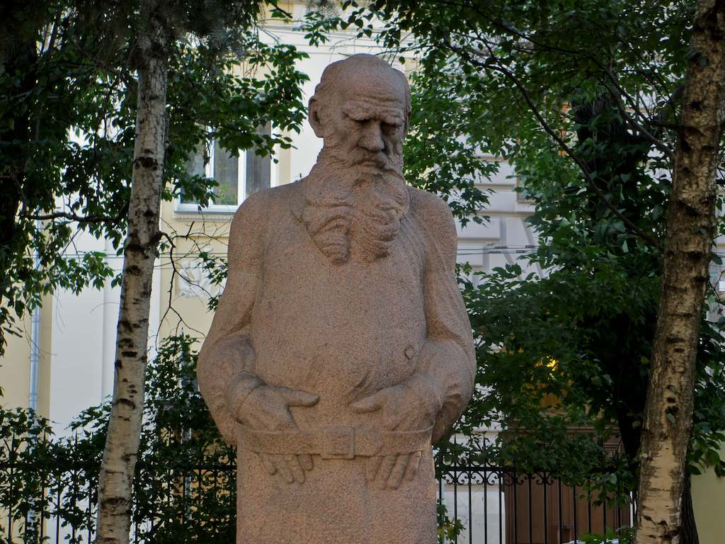 Tolstoy Memorial Museum Moscow, Lev Tolstoy museum and statue, Moscow | Russian Culture in Landmarks