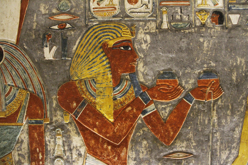Tomb of Horemheb (KV 57) Luxor, The World's Best Photos of horemheb - Flickr Hive Mind