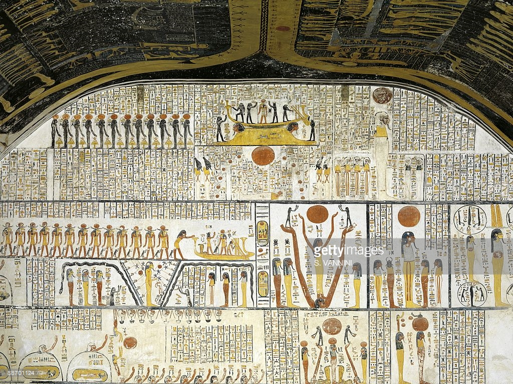 Tomb of Ramses VI (KV 9) Luxor, egypt-thebes-luxor-valley-of-the-kings-tomb-of-ramses-vi-burial ...