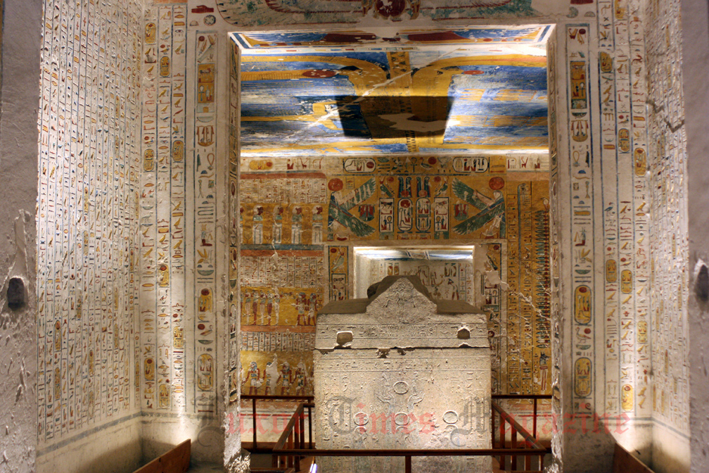 Tomb of Seti I (KV 17) Luxor, For the first time in 3500 years, Royal tombs are open at night ...