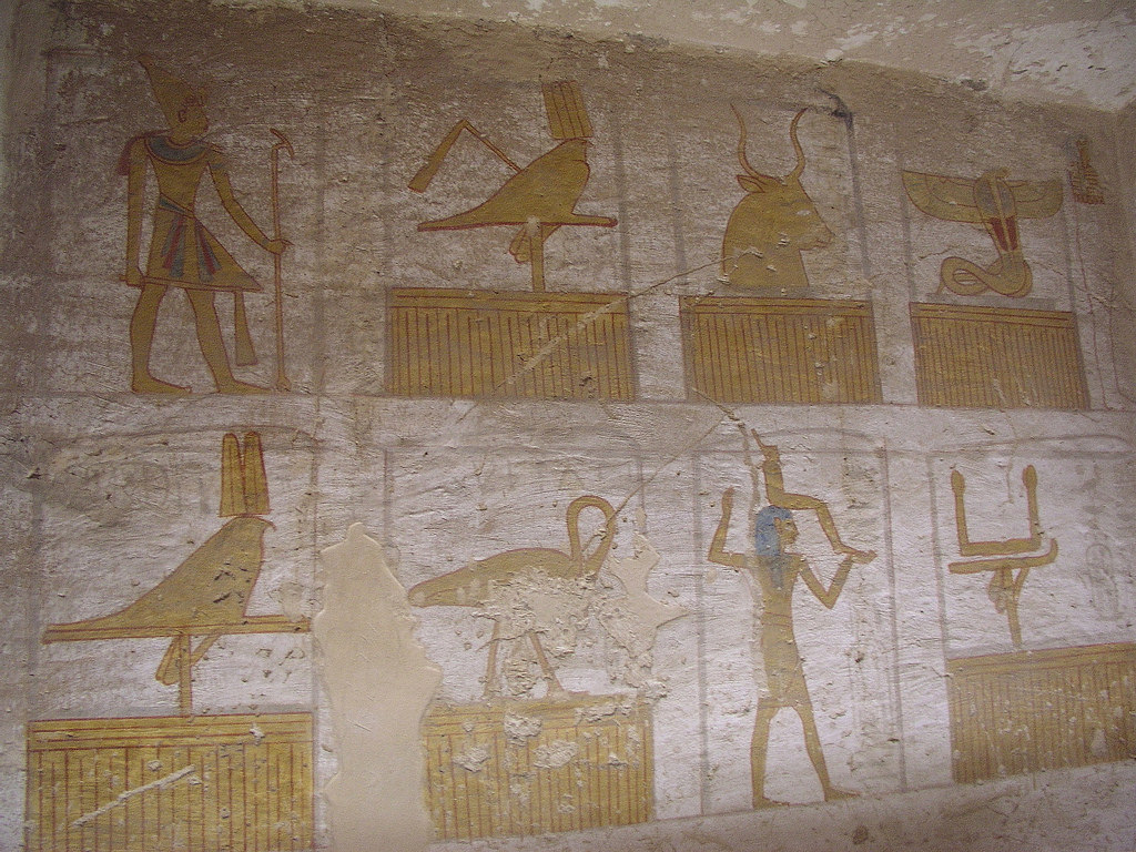 Tomb of Seti II (KV 15) Luxor, The World's Best Photos of ramesside - Flickr Hive Mind