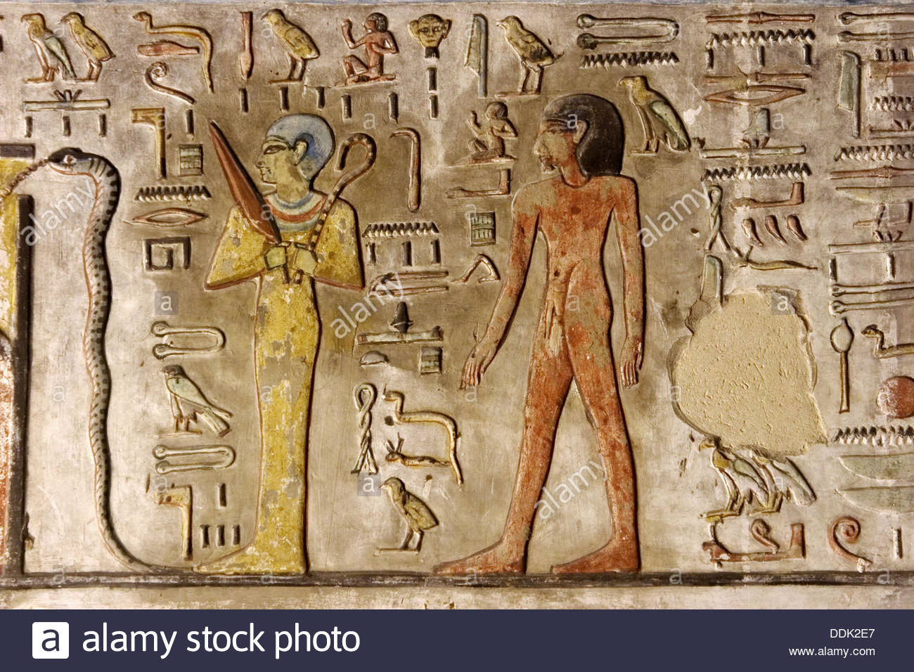 Tomb of Seti II (KV 15) Luxor, Tomb Seti Valley Kings Luxor Stock Photos & Tomb Seti Valley Kings ...