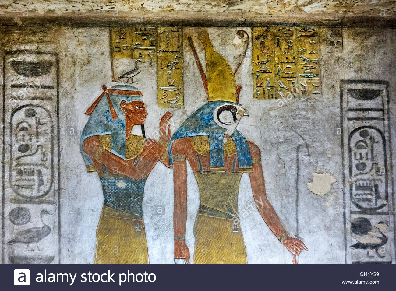 Tomb of Siptah (KV 47) Luxor, Tomb of Siptah at the Valley of the Kings at Luxor Stock Photo ...