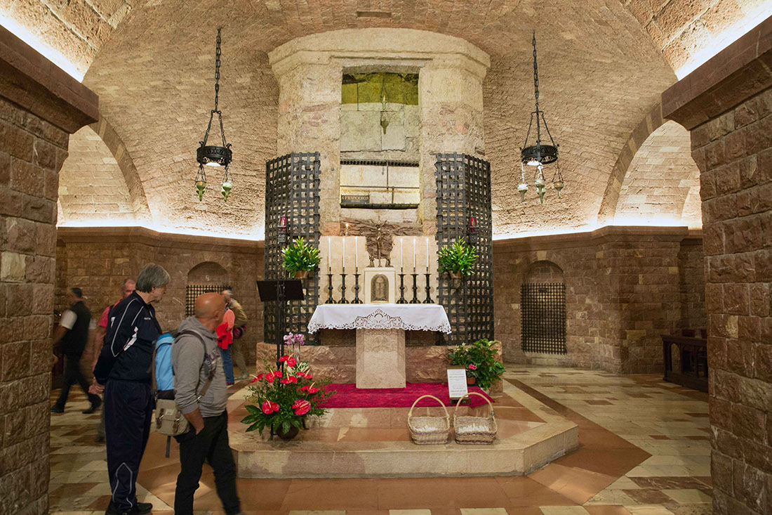 Tomb of St Francis Assisi, I Once Had an Odd Experience at the Tomb of St. Francis