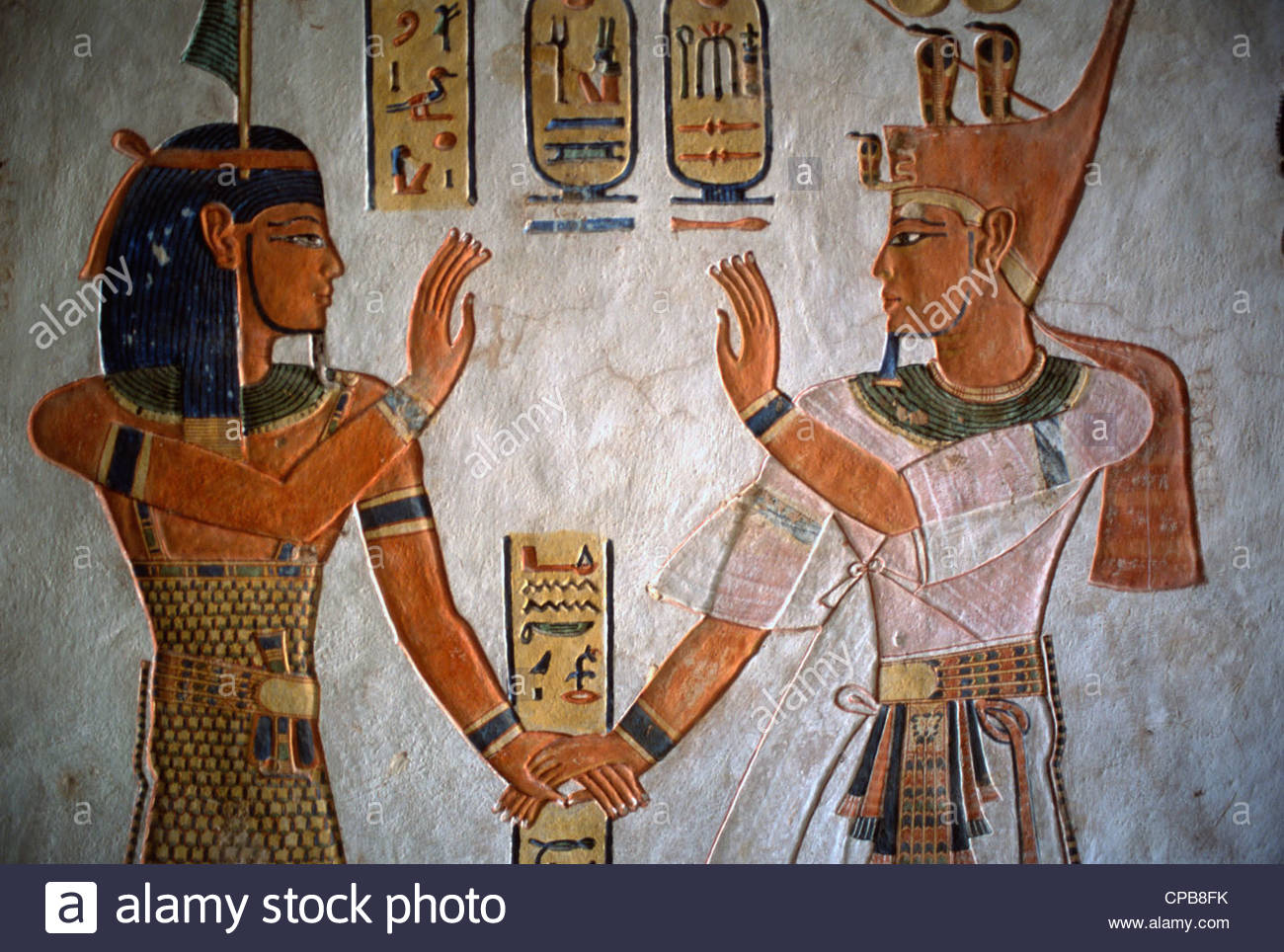 Valley of the Queens Luxor, Egypt, Luxor, Thebes, Valley of the Queens, Tomb of Queen Titi ...