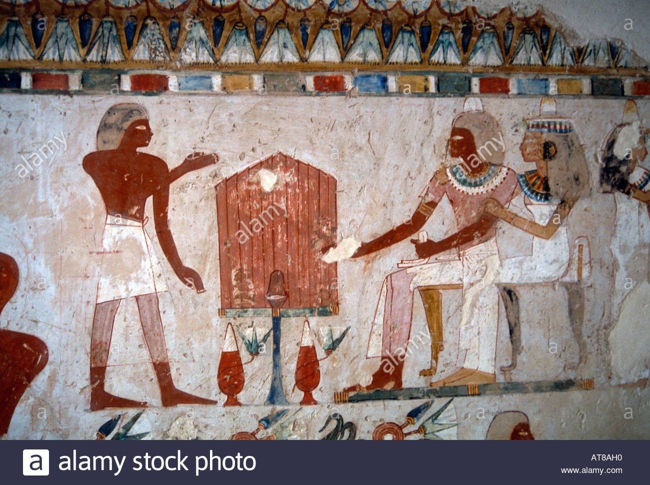 Tombs of Menna, Nakht & Amenemope Luxor, Luxor Egypt Valley Of Nobles Tomb Of Menna Stock Photo, Royalty ...