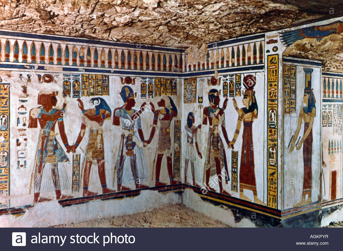 Tombs of Menna, Nakht & Amenemope Luxor, Luxor Egypt Tomb Of Menna Tombs Of The Nobles Stock Photo, Royalty ...