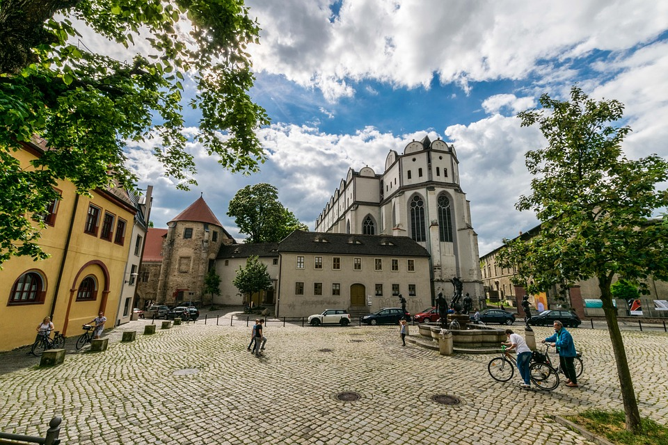 Torgau Historic Town Center Saxony, Saxony-Anhalt and Thuringia, Free photo Germany Erfurt Thuringia Germany Cathedral Square - Max ...