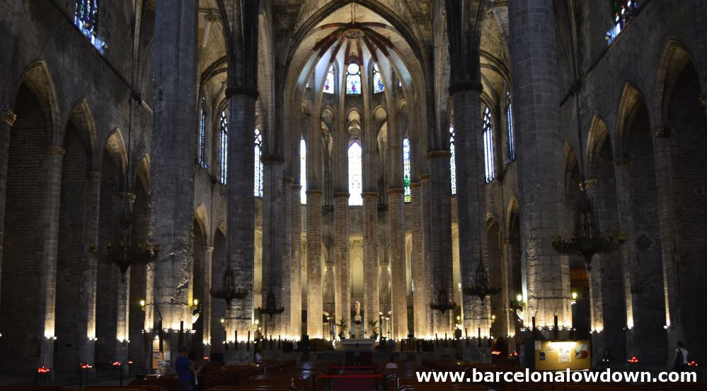 Torre Bellesguard Barcelona, Santa Maria del Mar - Barcelona's Cathedral of the Sea - Barcelona ...