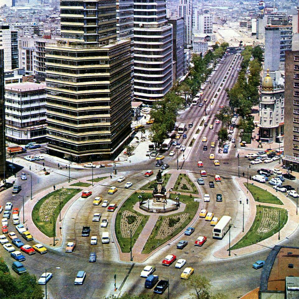 Torre Mayor Mexico City, Paseo de la Reforma, Mexico City 1963 | CDMX | Pinterest