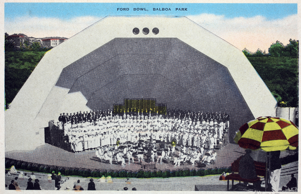 Torrey Pines State Beach and Reserve San Diego, Ford Bowl, Balboa Park | Title: Ford Bowl, Balboa Park Place… | Flickr