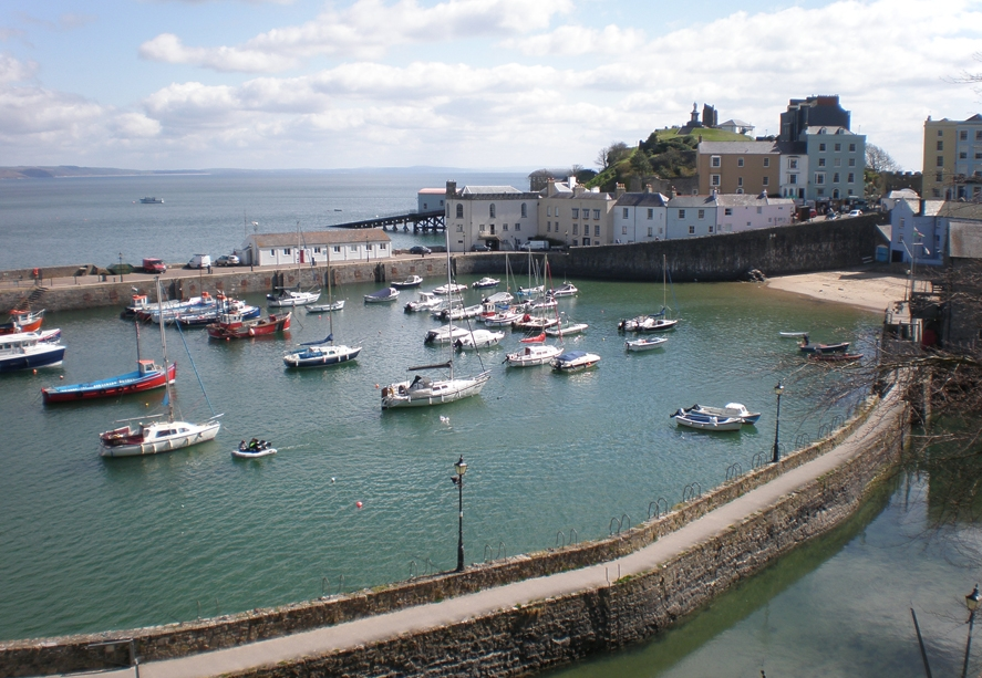 Town Trails of Tenby South Wales, Things to do in Tenby - The Tenby Treasure Trail