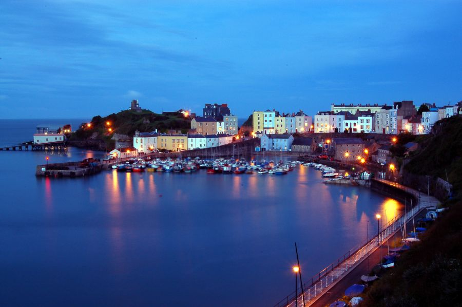 Town Trails of Tenby South Wales, Tenby | Sea Britain