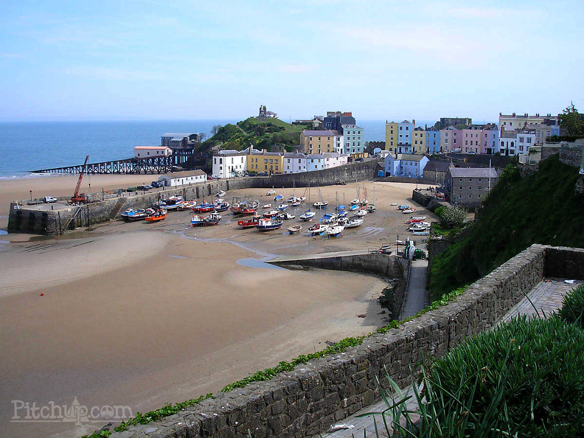 Town Trails of Tenby South Wales, Pinewood Caravan Park, Narberth, Pembrokeshire - Pitchup.com