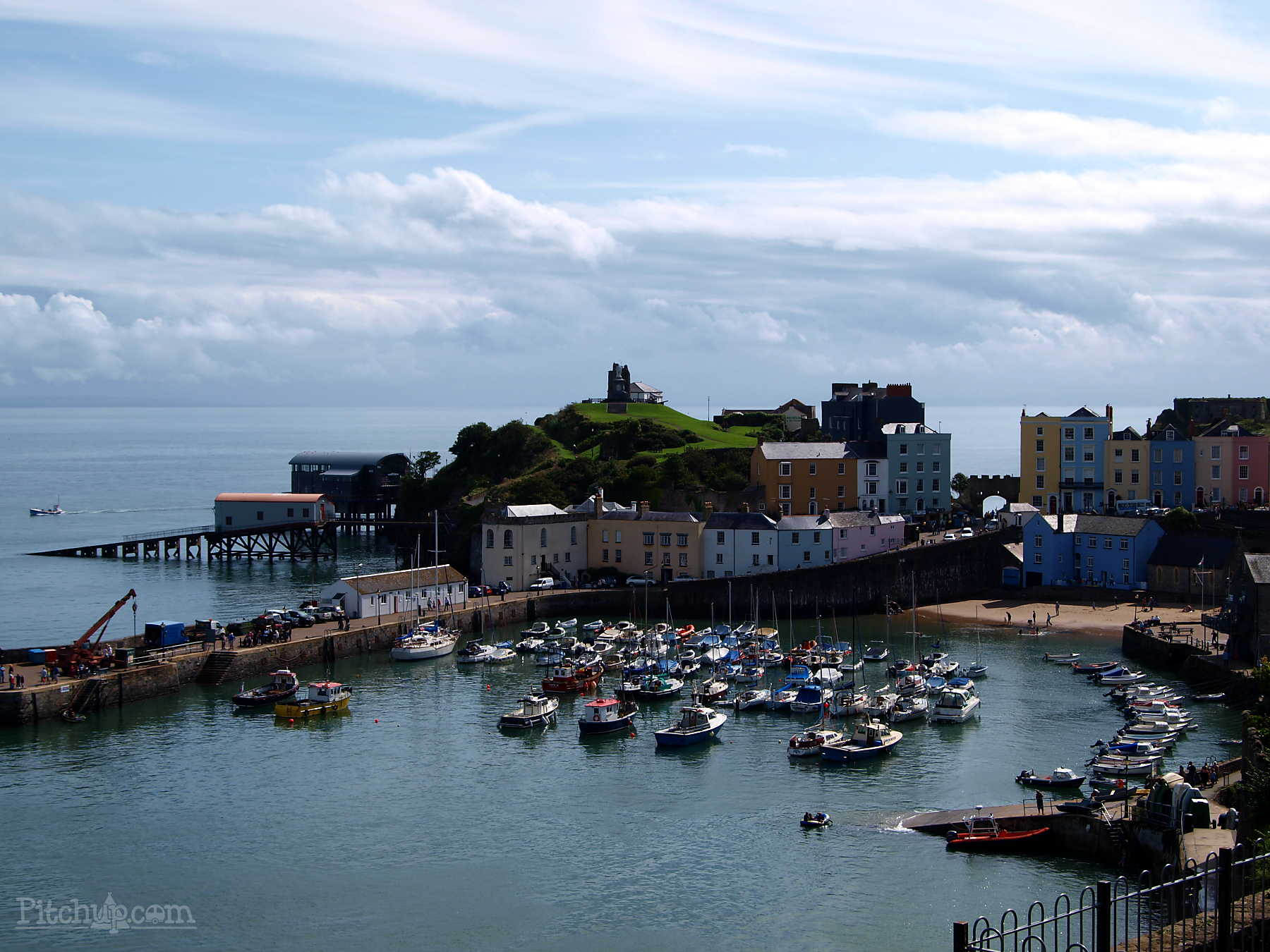 Town Trails of Tenby South Wales, Whitewell Holiday Park Caravan and Camping, Tenby, Pembrokeshire ...
