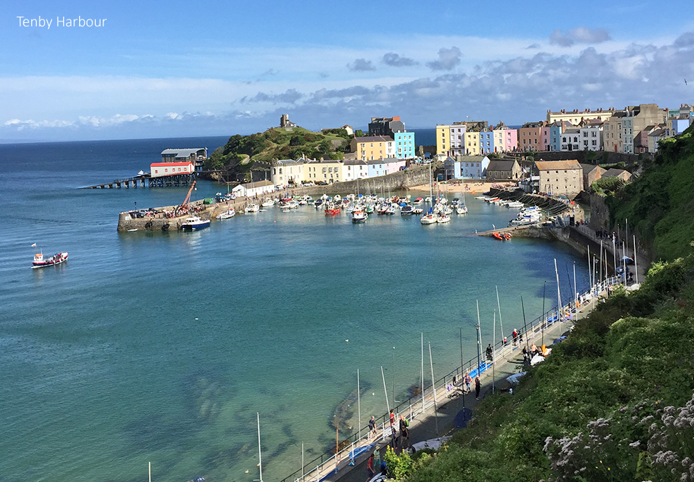 Town Trails of Tenby South Wales, Bryngraenog, Tenby | 4 Star Holiday Home in Pembrokeshire, South ...