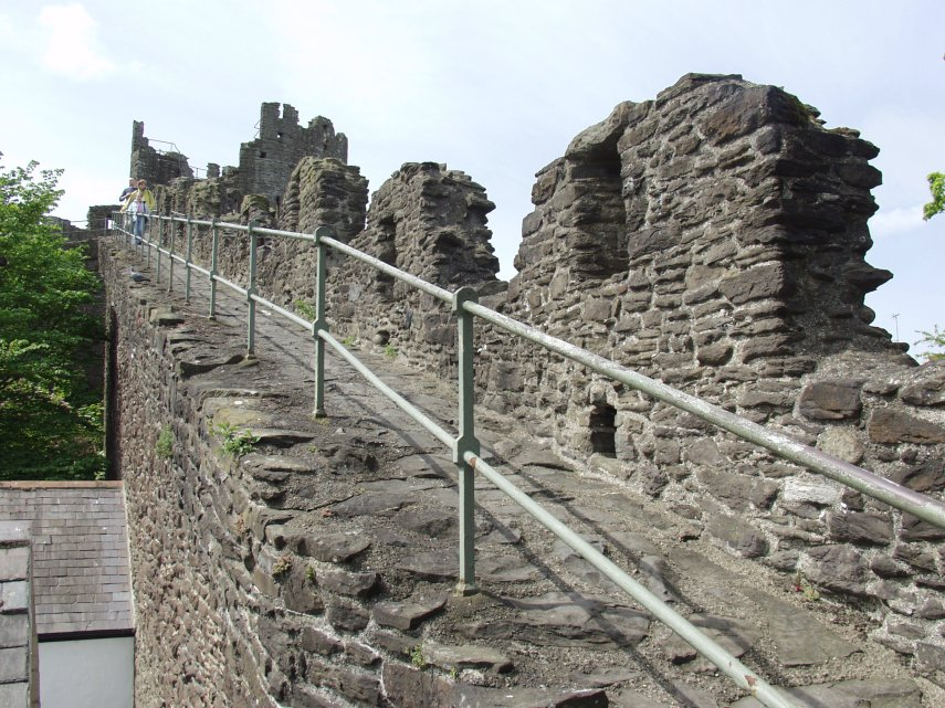 Town Wall Conwy, BeenThere-DoneThat: Conwy town walls, Snowdonia, Caernarfonshire ...