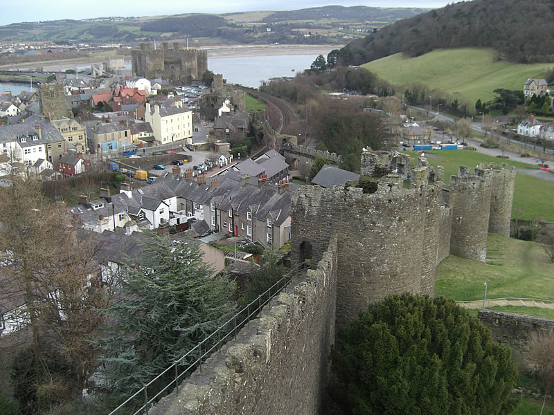 Town Wall Conwy, Conwy, Wales - Travel Blogs - Travel Journals - Travel Photos