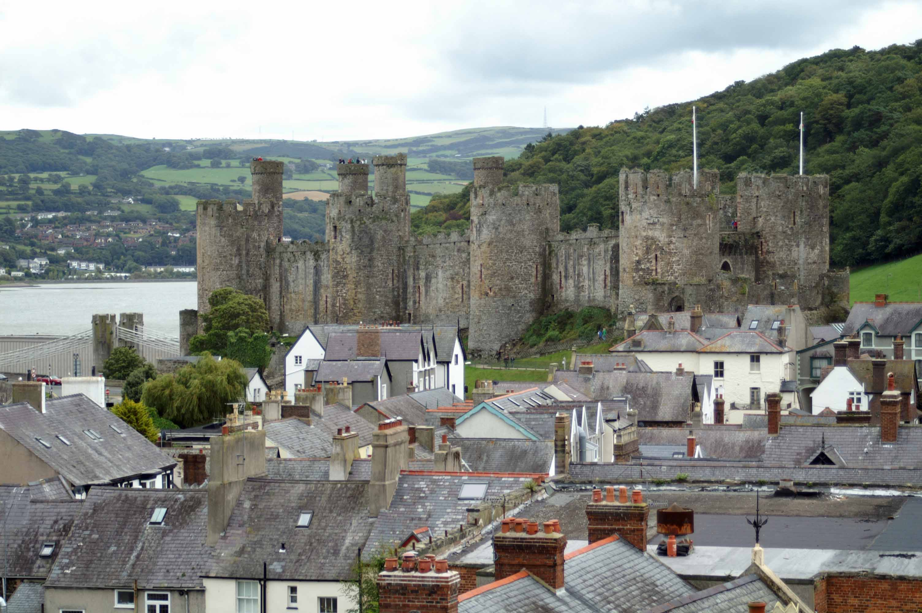 Town Wall Conwy, conwy town walls | everyday nature trails