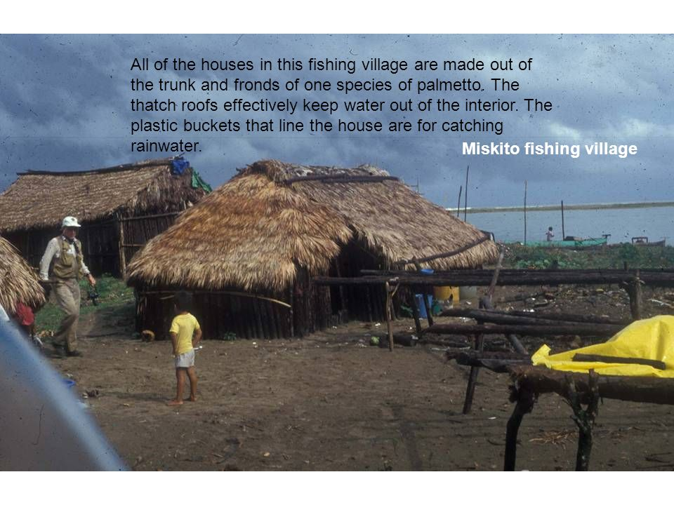 Traditional Miskito Fishing La Mosquitia, La Mosquitia Physical Geography Physiography Interior mountains ...
