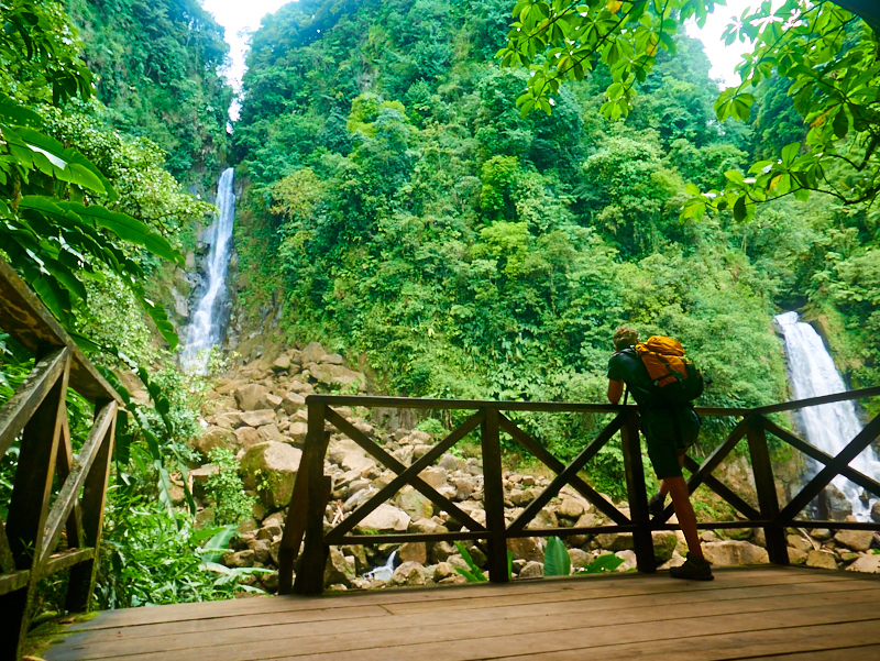 Trafalgar Falls Trafalgar Falls, Trafalgar Falls Dominica. Hiking   dominica   Pinterest   Hiking ...