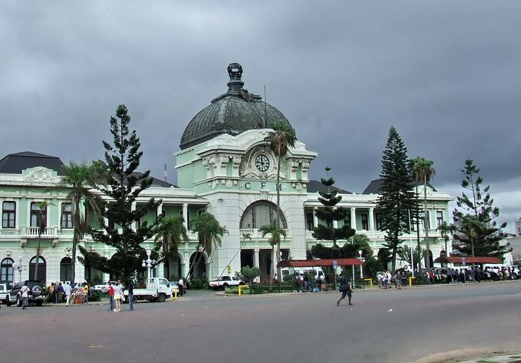 Train Station Maputo, Emergency Supplies for Road Trips | Maputo, Gustave eiffel and ...