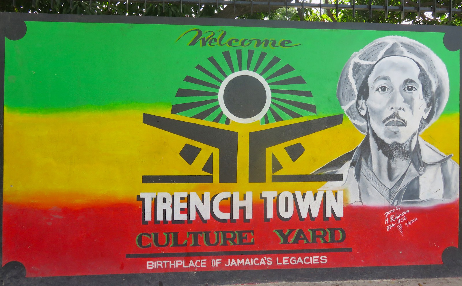 Trench Town Culture Yard Kingston, A Dreadly Rockin' Morning in Trench Town, Jamaica ...