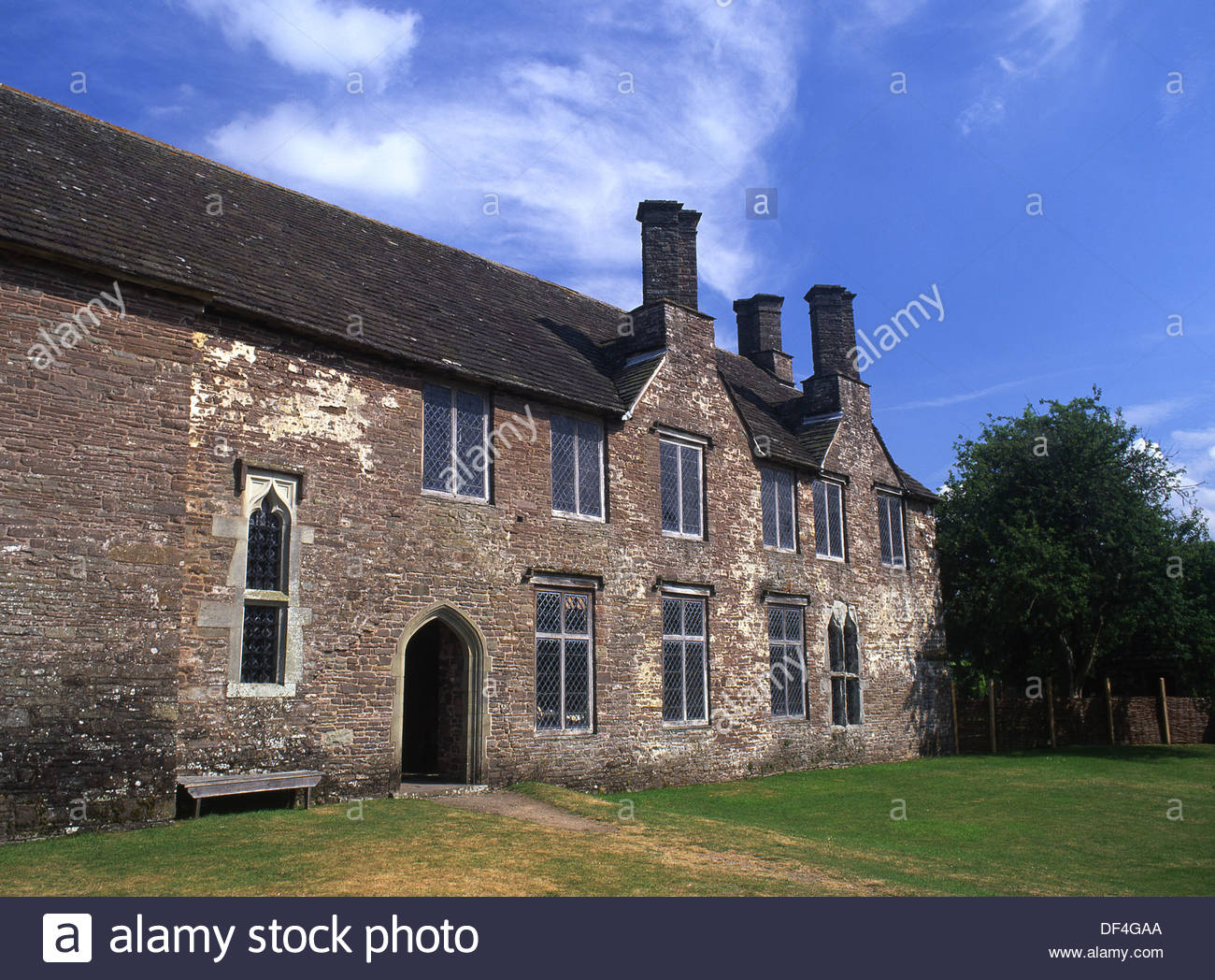 Tretower Court South Wales, Tretower Court Medieval historic house Brecon Beacons Powys South ...