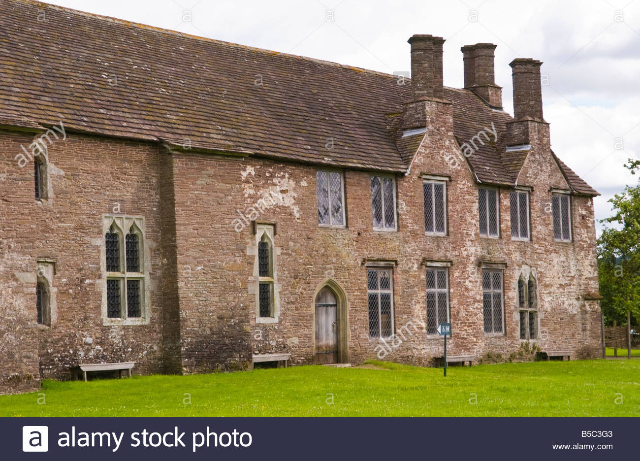 Tretower Court South Wales, The West Range of Tretower Court near Crickhowell Powys South ...