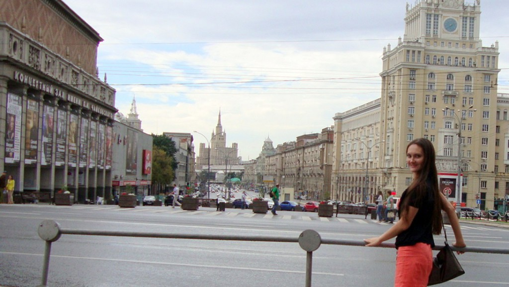 Triumphal Square Moscow, White City and Boulevard Ring of Moscow