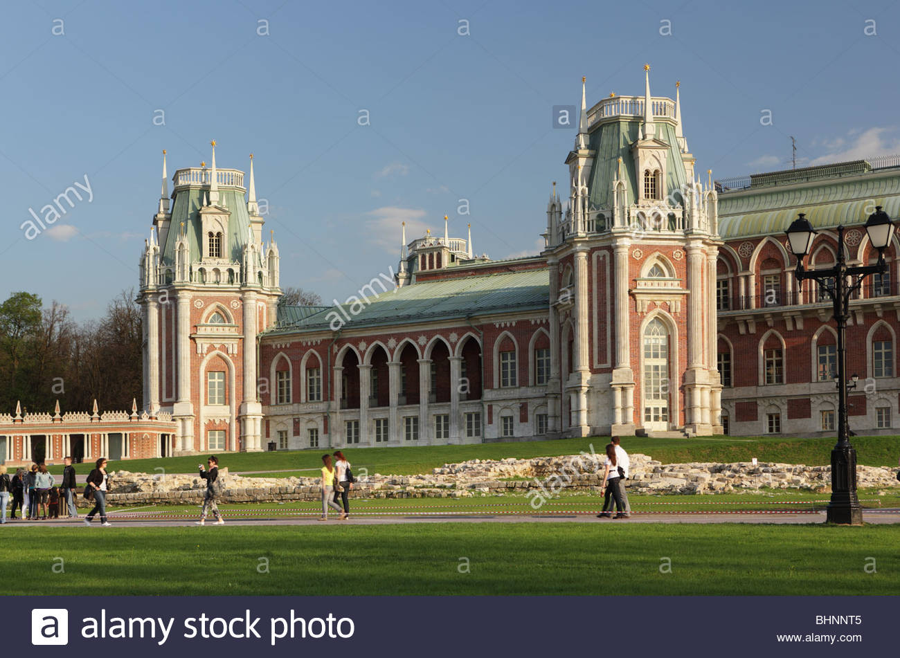 Tsaritsyno Moscow, Grand Palace in the State Museum-Reserve Tsaritsyno, Moscow ...