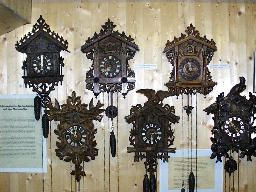 Uhren Museum The Black Forest, The village and clock museum at Guetenbach in the Black Forest
