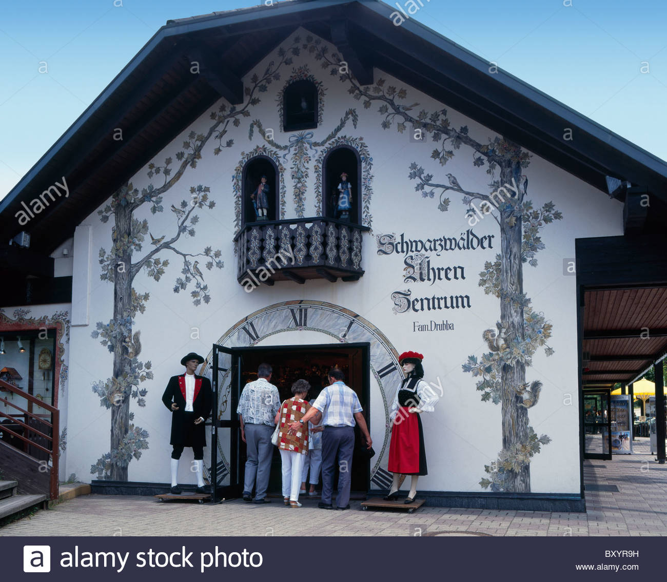Uhren Museum The Black Forest, Titisee, Black Forest, Drubba clock museum, Germany Stock Photo ...
