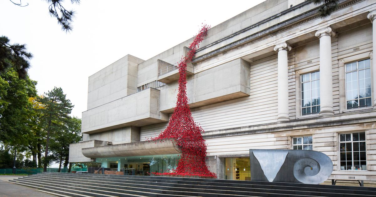 Ulster Museum Belfast, In pictures: Ulster Museum transformed by 'Weeping Window' of ...