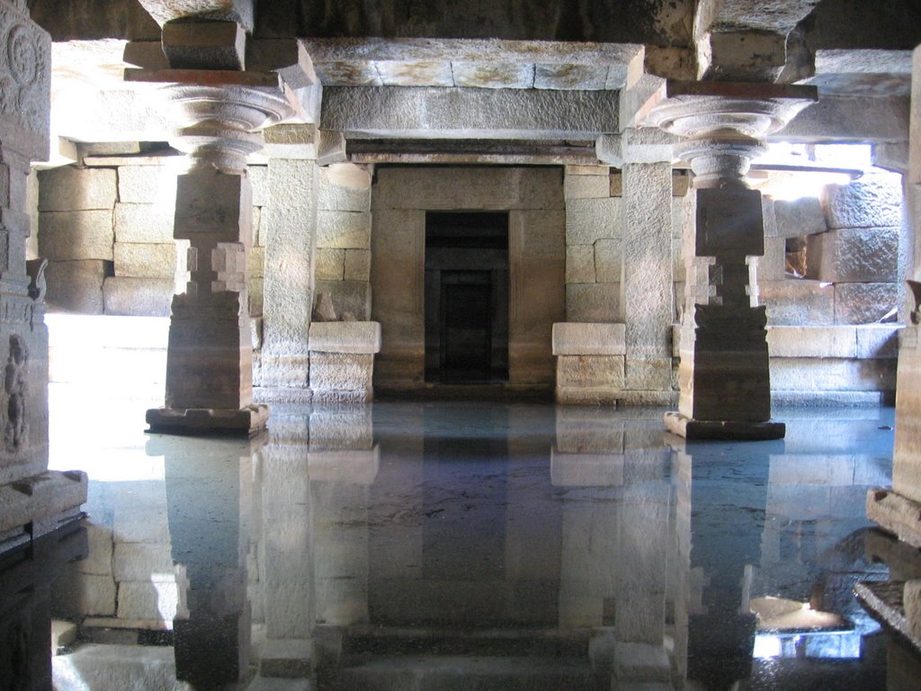 Underground Virupaksha Temple Hampi, The Unstoppable Force: Hampi - The World's Largest Open Air Museum
