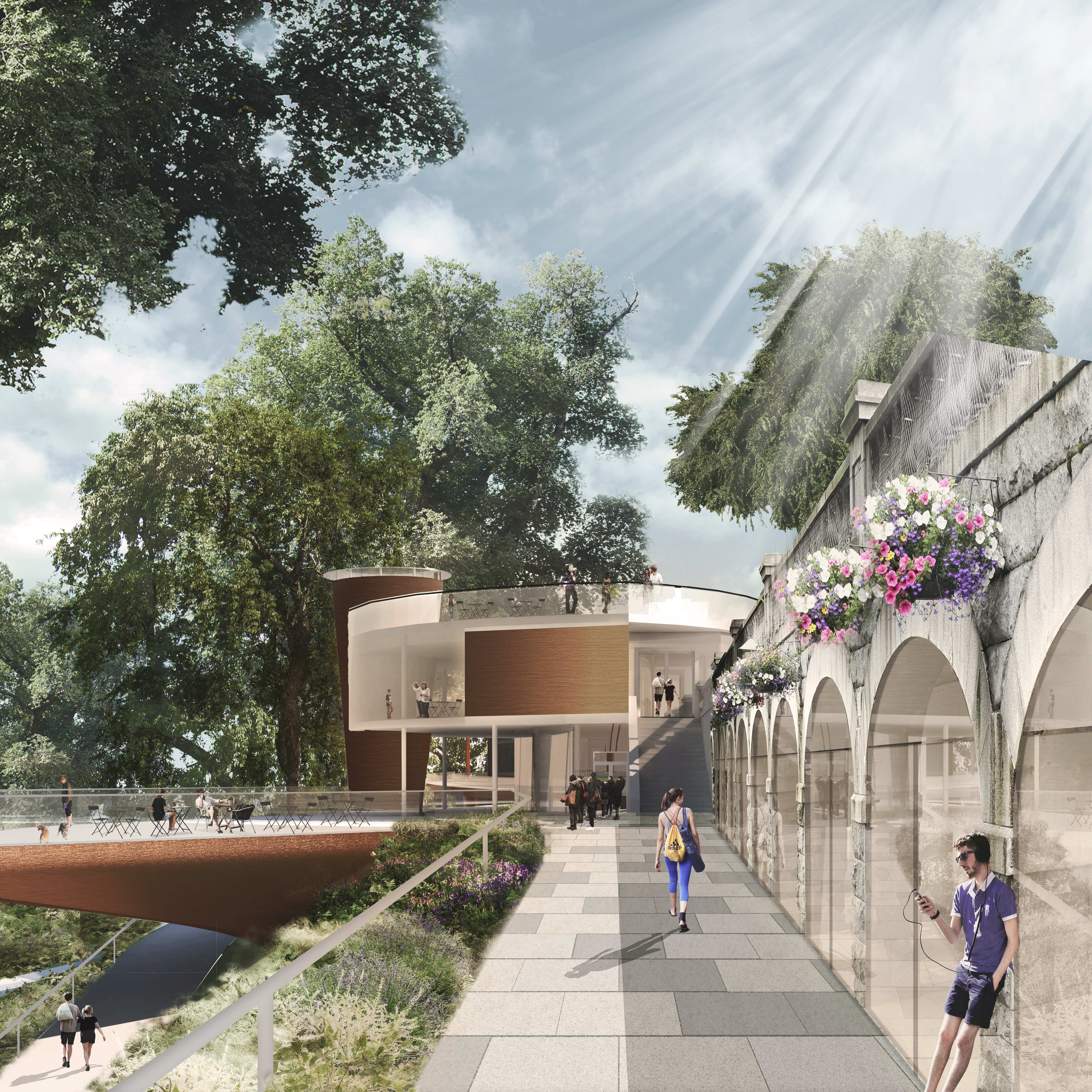 Union Terrace Aberdeen and the Northeast, New £20million proposals for Aberdeen's Union Terrace Gardens ...