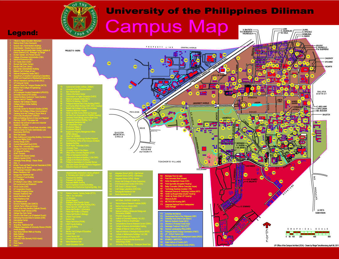 University of the Philippines Diliman Manila, Campus Maps | University of the Philippines System Website