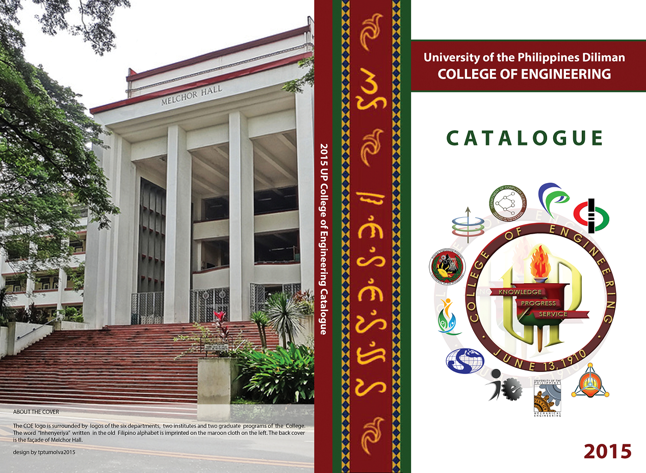 University of the Philippines Diliman Manila, College Catalogue –