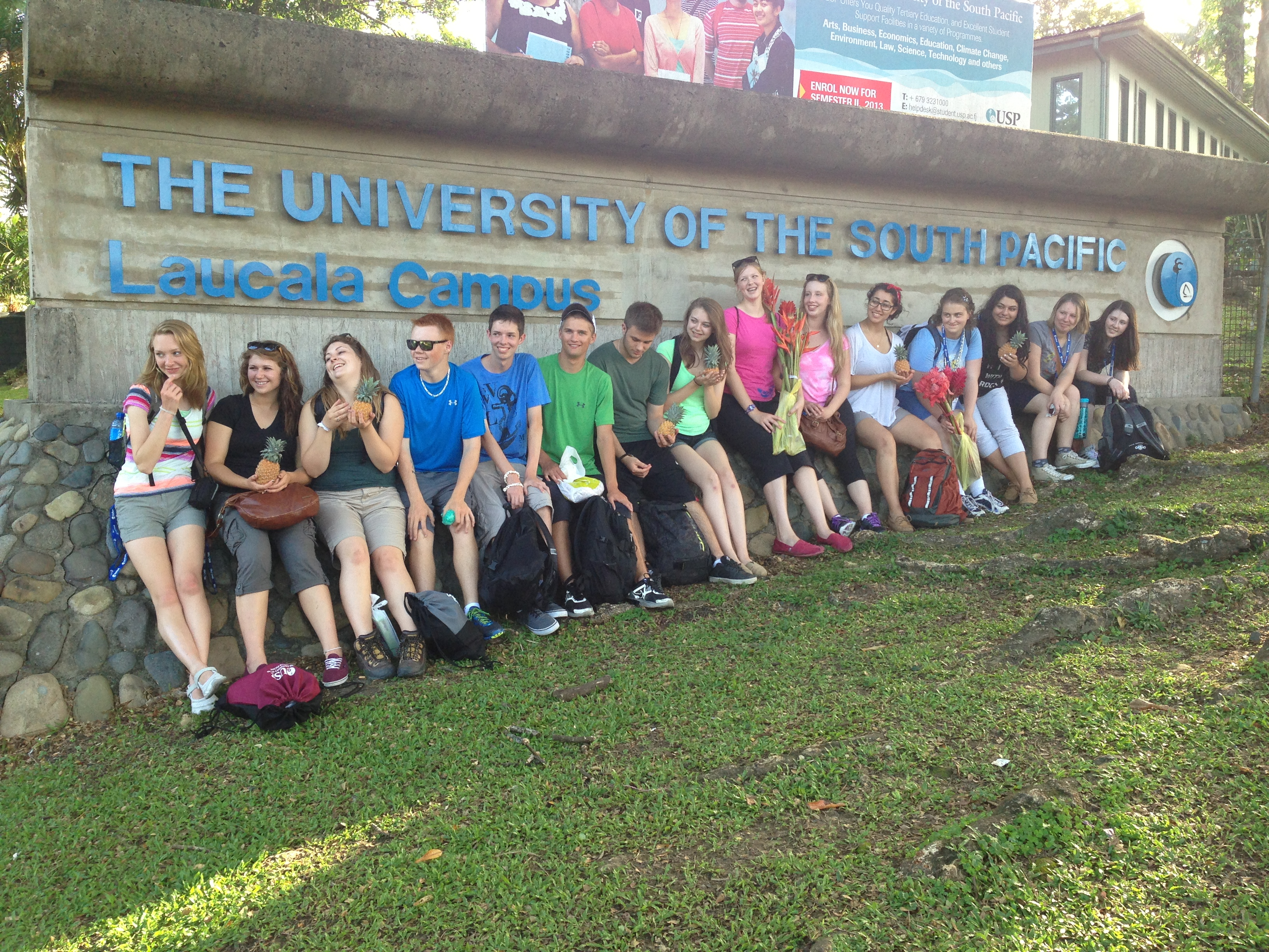 University of the South Pacific Suva, Biology in Fiji Course   Ms. Nehal Patel
