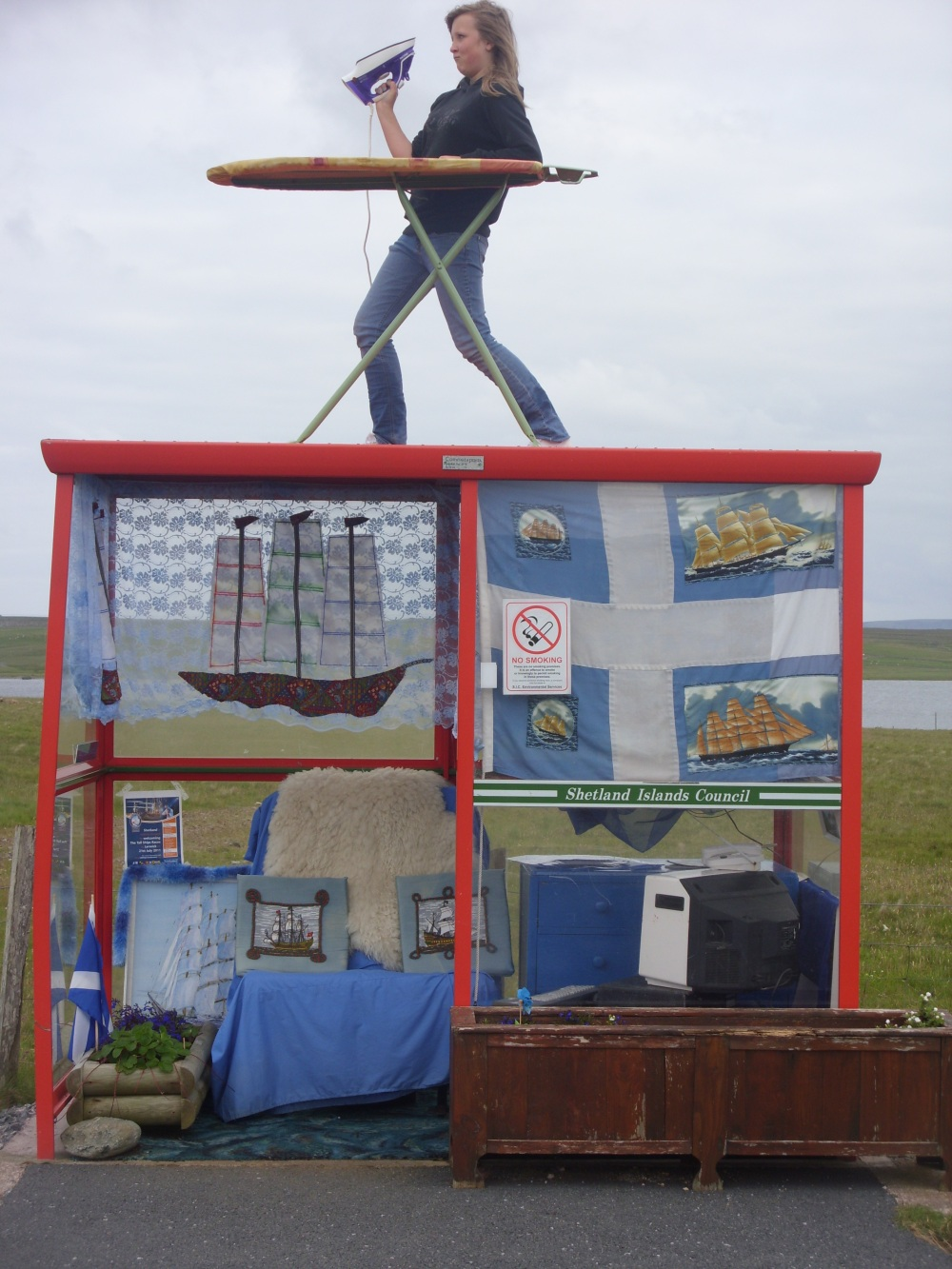 Unst Bus Shelter Unst, At Bobby's Bus Stop – UNST: The Island Above All Others