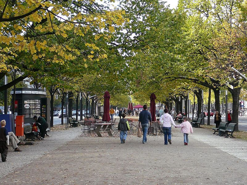 Unter den Linden Berlin, Who planted the lime trees on Unter den Linden boulevard ...