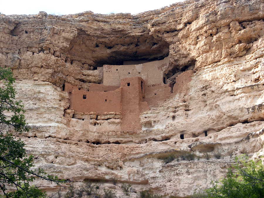 Utah Field House of Natural History State Park Museum Vernal, Montezuma Castle National Monument and Montezuma Well, Camp Verde ...