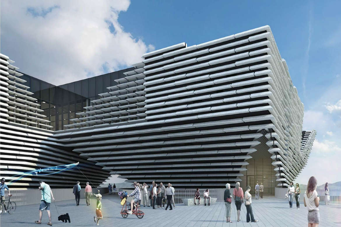 V&A Museum of Design Dundee, V&A Museum of Design Dundee contract signed - BAM News
