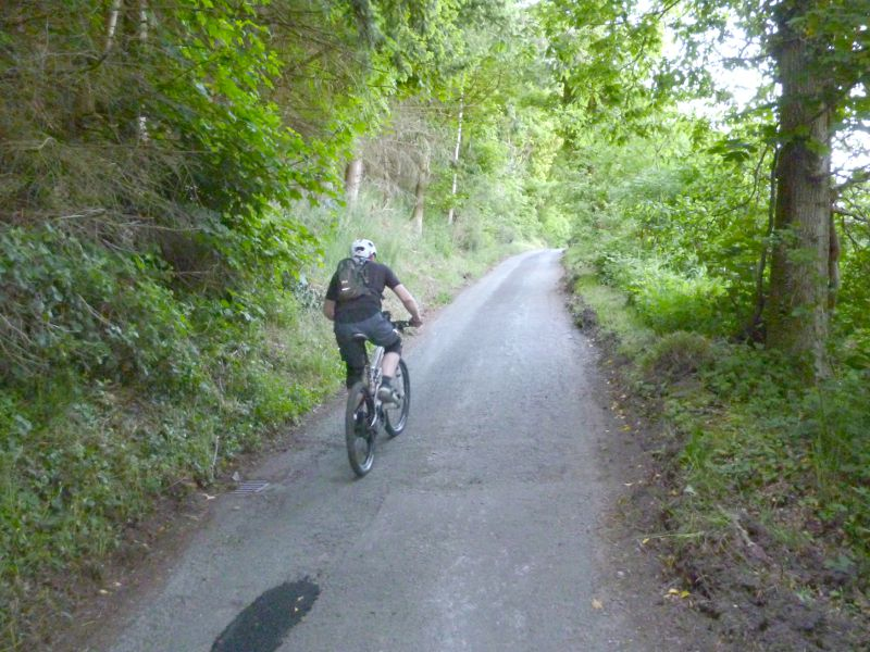 Vale of Ceiriog North Wales, Pontfadog and the Vale of Llangollen - North Wales MTB Route