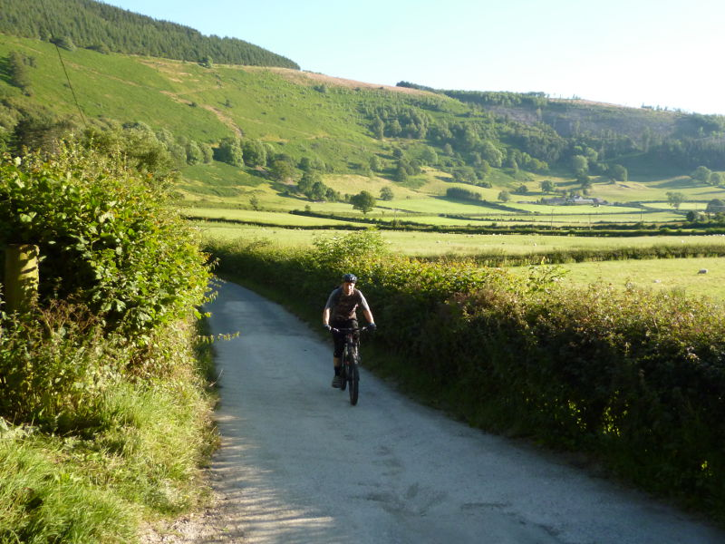 Vale of Ceiriog North Wales, The Llangollen Badi - North Wales MTB Route Guides